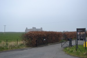 Tantallon off in the Misty Distance