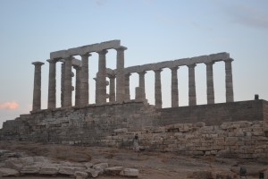 The Temple of Poseidon at Sounion