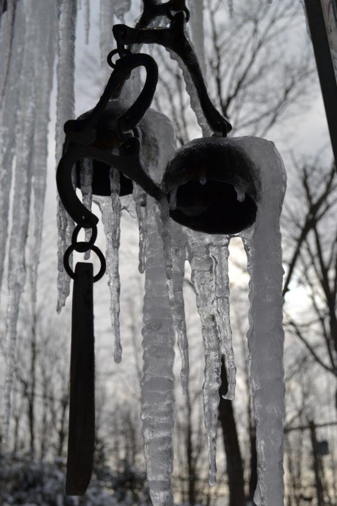 Frozen Wind Chimes
