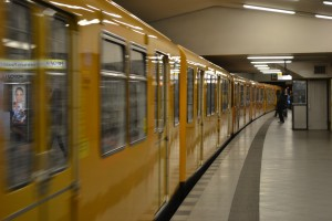 One of many trains in Berlin
