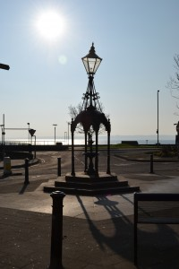 March 7, 2011. Carrickfergus town center