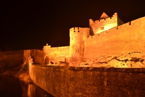 Cahir Castle at Night