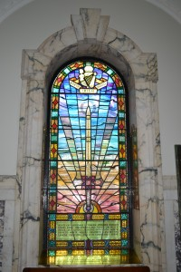 Stained Glass at City Hall, Northern Ireland
