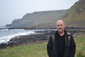 Jim at the Giant's Causeway