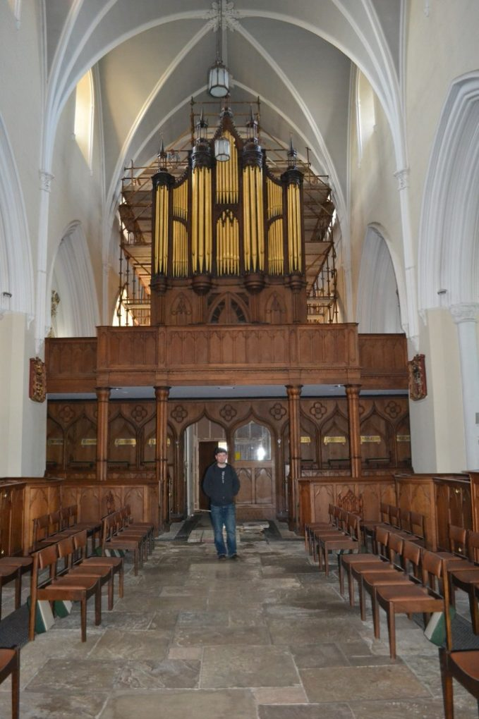 Father Branden and his Organ