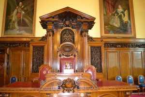 Council Chambers, City Hall, Belfast Ireland