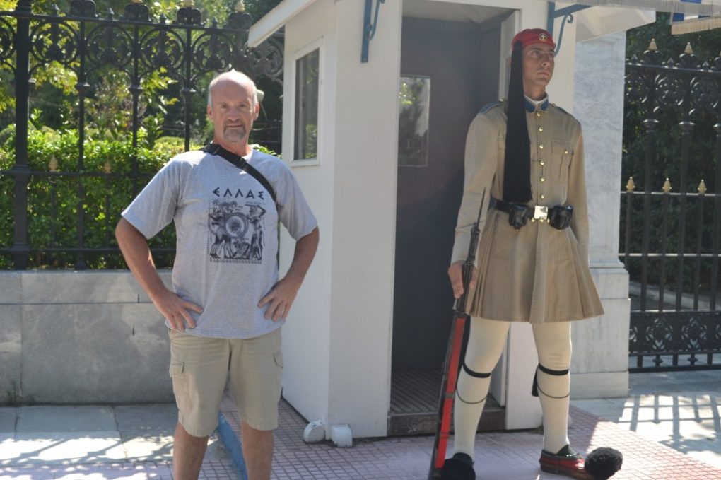 Guarding the Palace in Athens