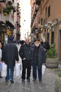 Jim and Genarro in Napoli