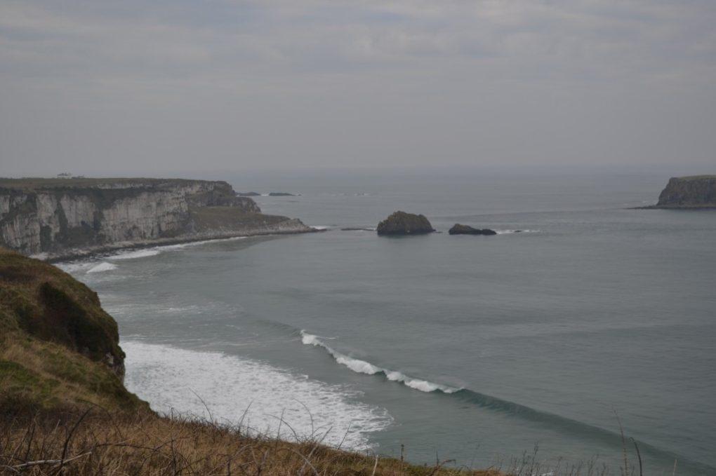 Surf's Up along the Irish Coastline