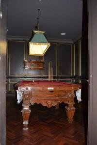 Billiards in an old Vault