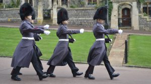 Marching at Windsor