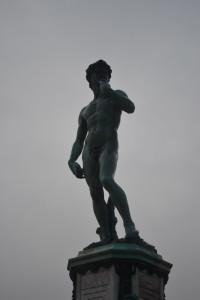 Bronze David