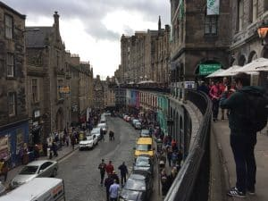 Busy Streets of Edinburgh