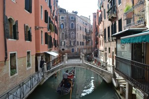 Colorful Waterways of Venice
