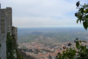View from the top at San Marino