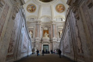 Central Staircase from the Bottom- Caserta Royal Palace