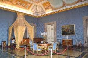 Royal Bed Chamber-Caserta Royal Palace