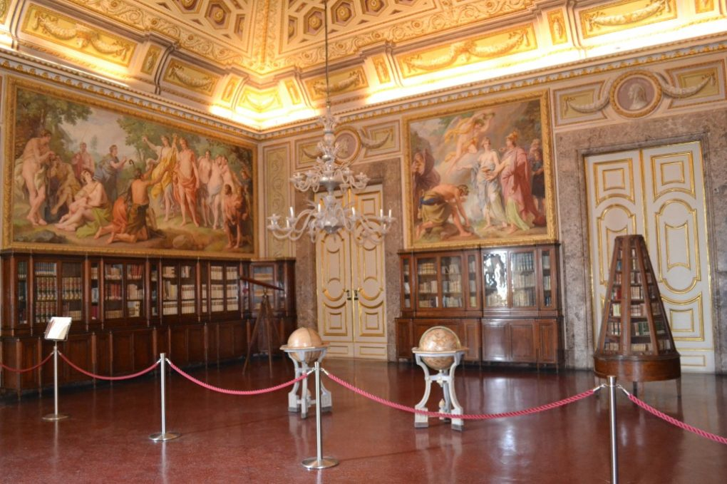 Library- Caserta Royal Palace