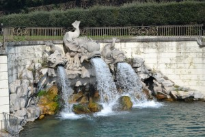 Fountain of the Dolphins-Caserta Royal Palace